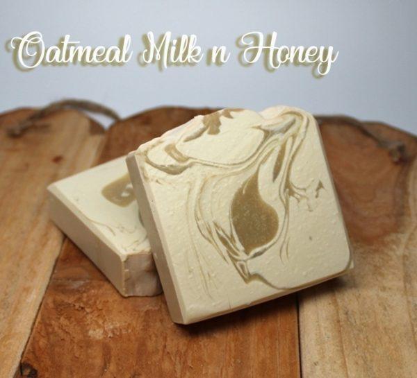 Oatmeal Milk & Honey Soaps - Vegan Friendly Soap