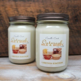 Oatmeal Milk & Honey Candles - Limited Edition Candles by Candle Crest