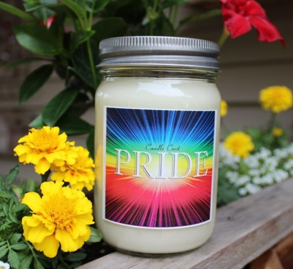 Pride Candles by Candle Crest Soy Candles - Pride Month