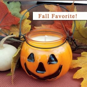 Fall Pumpkin Jar Candles - Scented Fall Candles by Candle Crest