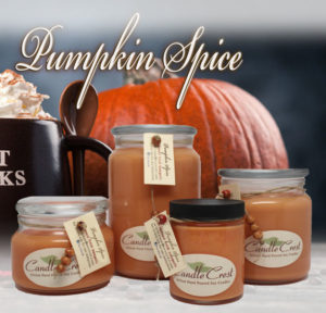 Pumpkin Spice - Spiced Pumpkin Soy Candles by Candle Crest Soy Candles Inc
