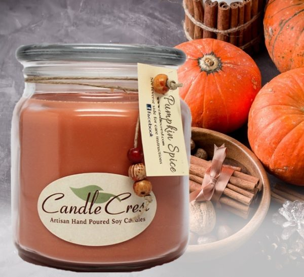 Fall Candles - Pumpkin Spice by Candle Crest