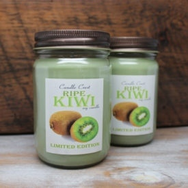 Ripe Kiwi Scented Soy Candles by Candle Crest Soy Candles Inc