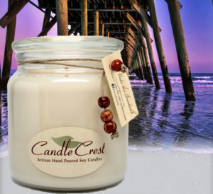 Under the Boardwalk Scented Soy Candles by Candle Crest Soy Candles Inc