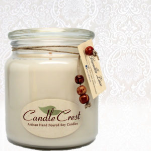 Vanilla Lace Scented Soy Candles by Candle Crest Soy Candles Inc
