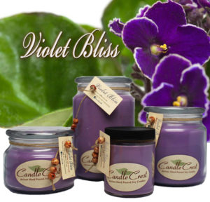 Violet Rose - Violet Bliss Soy Candles by Candle Crest Soy Candles Inc