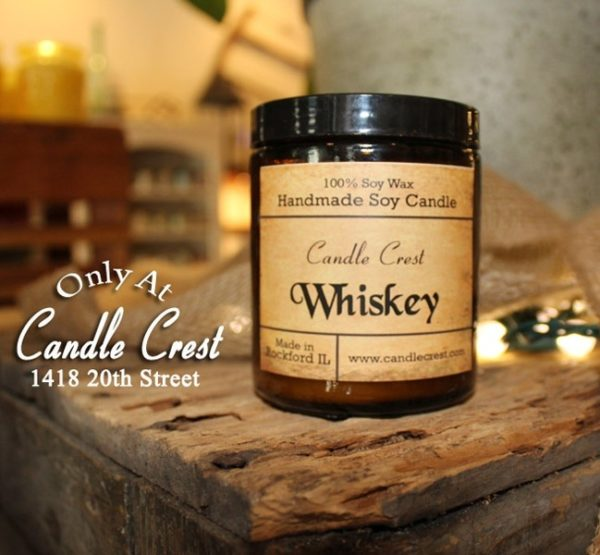 Whiskey Candles - Whiskey Scented Candles by Candle Crest