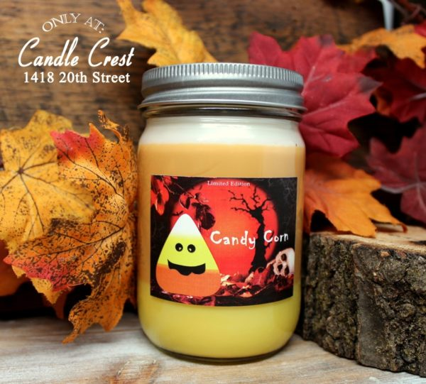 Candy Corn Scented Candles by Candle Crest Soy Candles