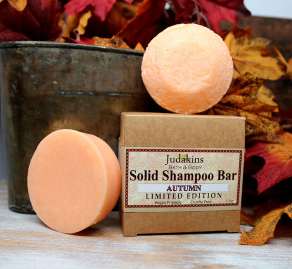 Fall Scented Solid Shampoo and Condition Bars by Judakins Bath & Body