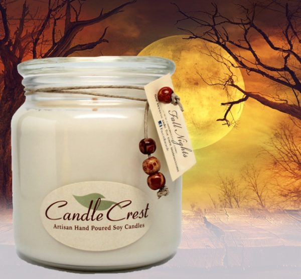 Fall Nights - Scented Soy Candles by Candle Crest Soy Candles Inc
