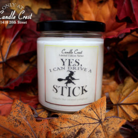 Halloween Witch Fall Candles by Candle Crest