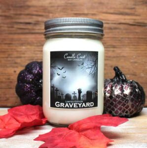 Graveyard Candles - Fall Candles by Candle Crest Soy Candles