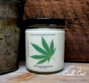Marijuana Candles by Candle Crest Soy Candles