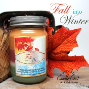 Fall into Winter - Unique Soy Candles by Candle Crest