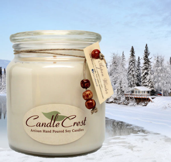 Aspen Winter Scented Soy Candles by Candle Crest Soy Candles Inc