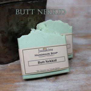 Butt Nekkid Soap - Eucalyptus & Spearmint Scented Soap