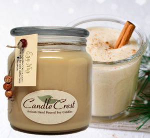 Eggnog Scented Soy Candles by Candle Crest