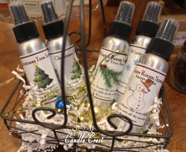Holiday Air Fresheners by Candle Crest