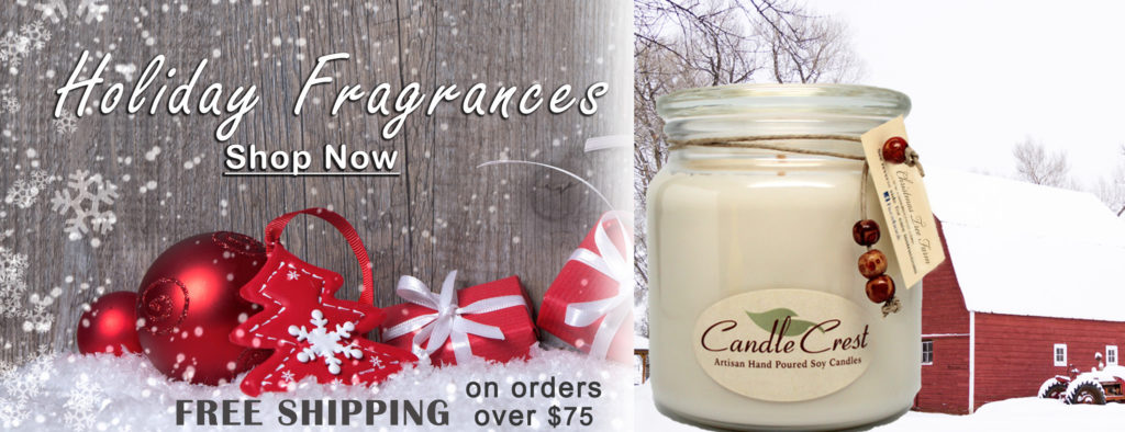 Holiday Soy Candles - Shop Now