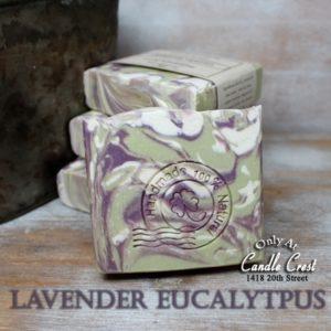 Lavender Eucalyptus Natural Handmade Soaps - Vegan Friendly Soap