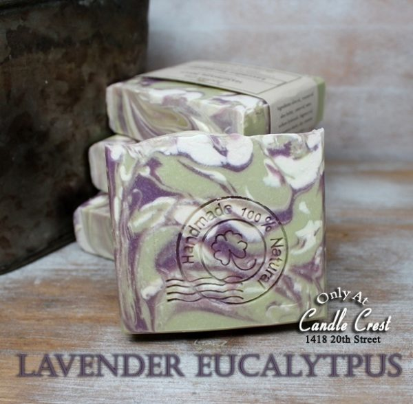 Lavender Eucalyptus Natural Handmade Soaps - Vegan Friendly Soap