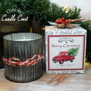 Tin Candles - Merry Christmas Gift Boxed Candles