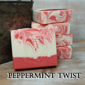 Peppermint Twist Natural Soap Judakins Bath &.Body