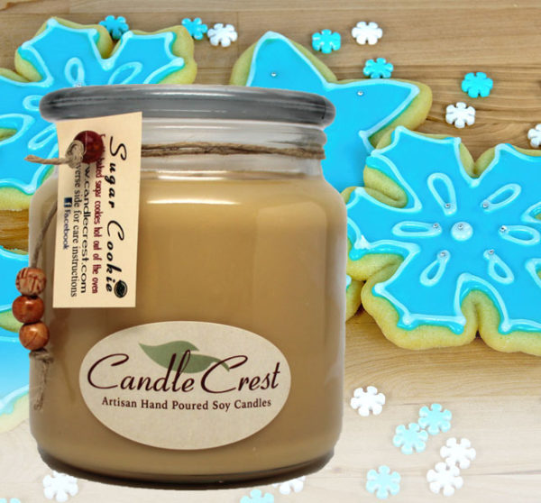 Sugar Cookie Candles by Candle Crest Soy Candles Inc