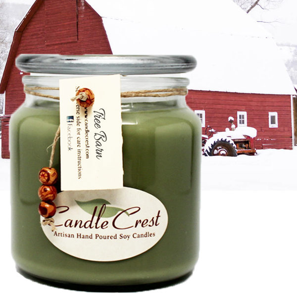 Tree Barn - Christmas Candles by Candle Crest Soy Candles
