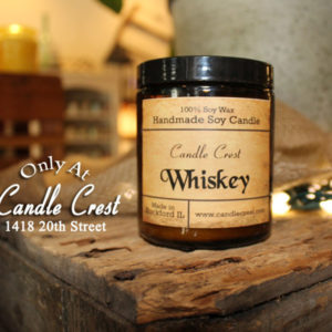 Whiskey Scented Candles by Candle Crest