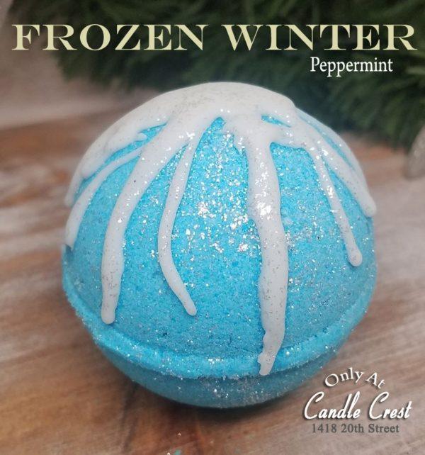 Frozen Winter - Peppermint Bath Bomb by Judakins Bath and Body