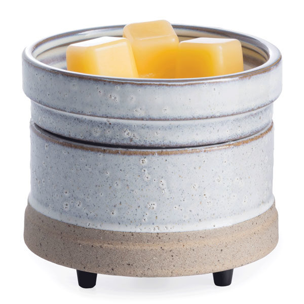 2 in 1 Candle & Tart Warmer - Candle Crest Soy Candles