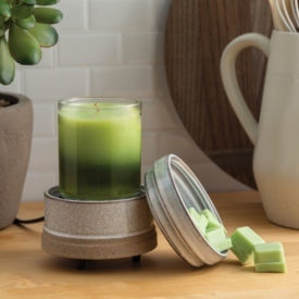 2 in 1 Candle and Tart Warmer from Candle Crest Soy Candles