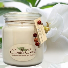 Gardenia Soy Candles by Candle Crest Soy Candles