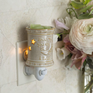 Pluggable Tart Warmers - Love You to the Moon -Candle Crest Soy Candles