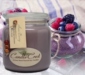 Acai Berry Scented Soy Candles by Candle Crest Soy Candles Inc