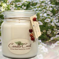 Alyssum Scented Candles by Candle Crest Soy Candles Inc