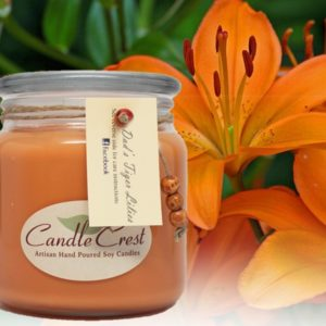 Tiger Lily Soy Candles by Candle Crest - Scented Soy Candles Inc