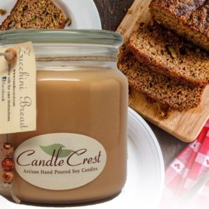 Zucchini Bread Scented Candles by Candle Crest Soy Candles Inc