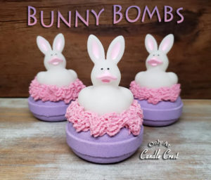 Bunny Bath Bombs by Judakins Bath & Body