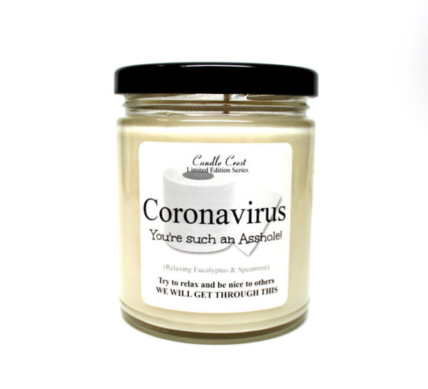 Coronavirus Candle by Candle Crest Soy Candles Inc