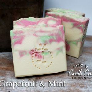 Grapefruit & Mint Handmade Soaps - Vegan Friendly Soap by Judakins Bath & Body