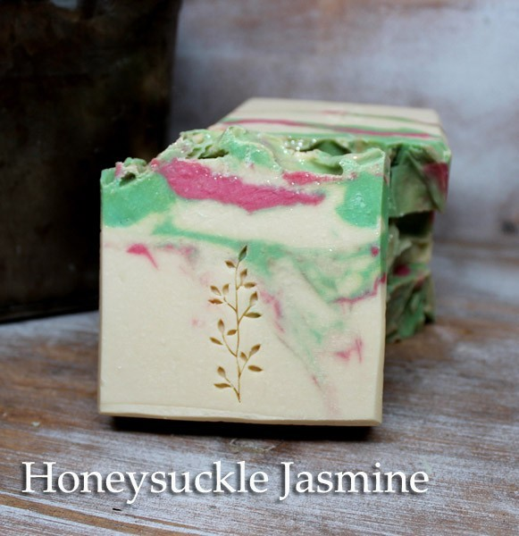 Honeysuckle Jasmine Handmade Soaps - Vegan Friendly Soap by Judakins Bath & Body