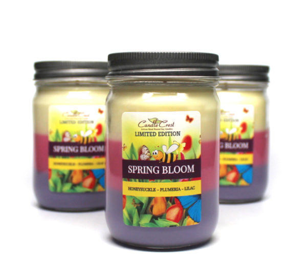Spring Bloom Candles - Soy Candles by Candle Crest Soy Candles Inc
