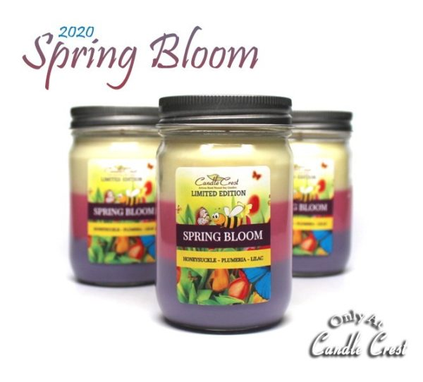 Spring Bloom - Soy Candles by Candle Crest Soy Candles Inc