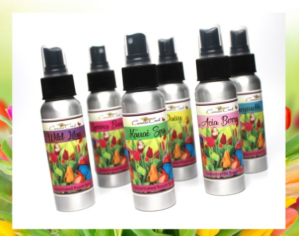 Spring Room Sprays by Candle Crest Candles