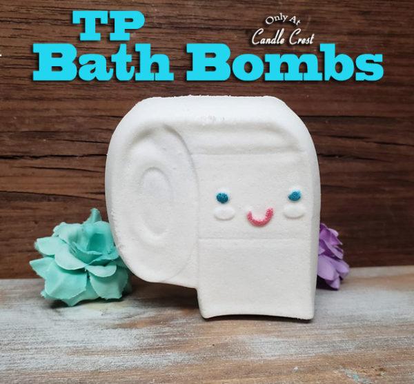 Unique Toilet Paper Bath Bomb by Judakins Bath & Body