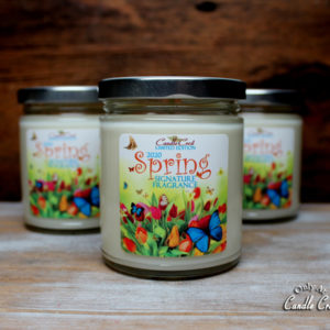 Spring Signature Candles by Candle Crest Soy Candles Inc
