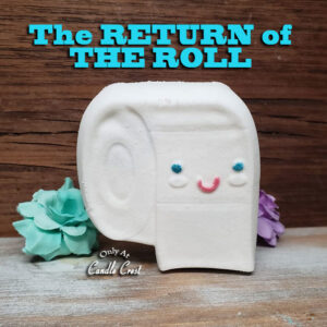 Toilet Paper Shaped Bath Bomb by Judakins Bath & Body