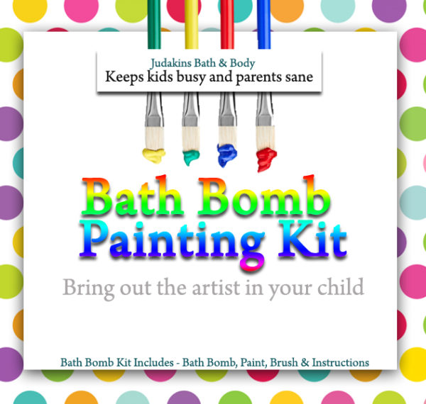 Bath Bomb Painting Kits
